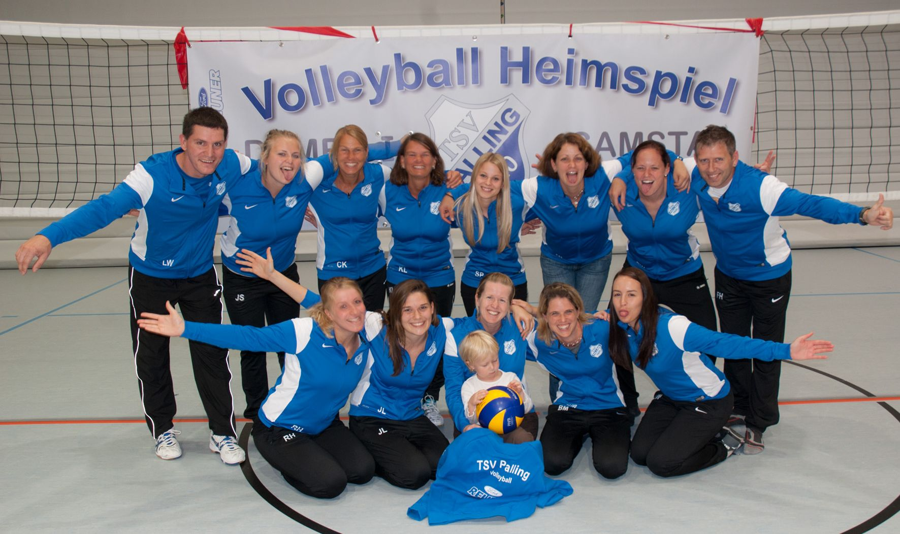 Volleydamen1 Gruppe 2